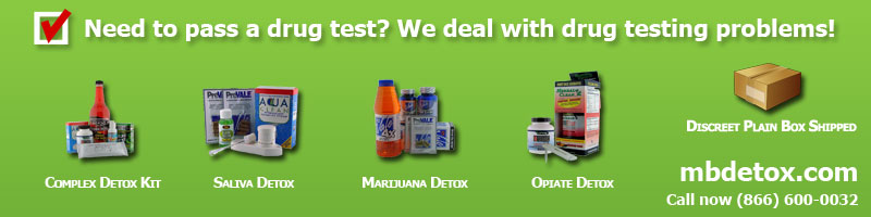 Pass a Drug Test With MBDetox